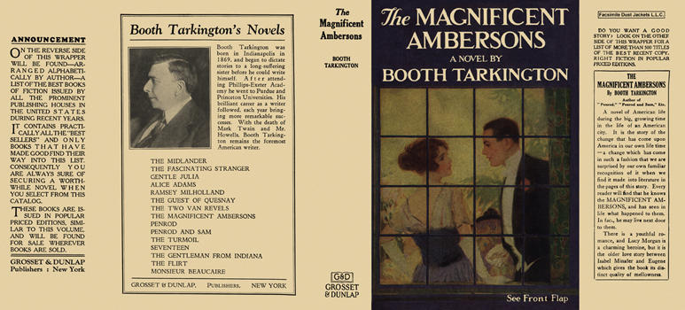 Magnificent Ambersons, The. Booth Tarkington