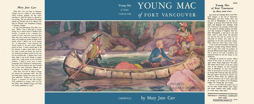 Young Mac of Fort Vancouver. Mary Jane Carr, Richard Holberg