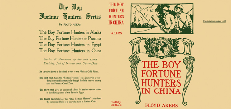 Boy Fortune Hunters in China, The. Floyd Akers.