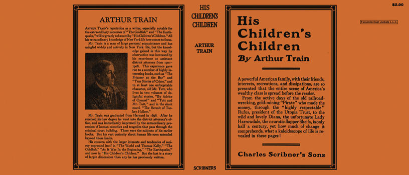 His Children's Children. Arthur Train.
