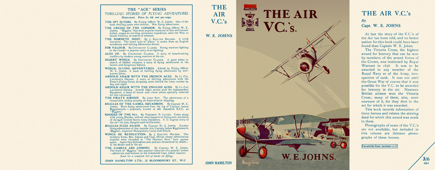 Air V. C.'s, The. Captain W. E. Johns