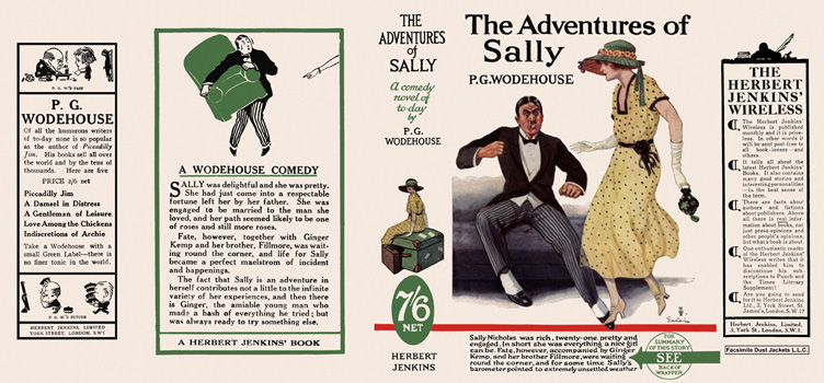 Adventures of Sally, The. P. G. Wodehouse