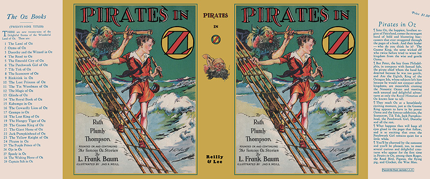 Pirates in Oz. Ruth Plumly Thompson, John R. Neill