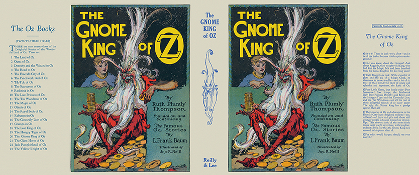 Gnome King of Oz, The. Ruth Plumly Thompson, John R. Neill