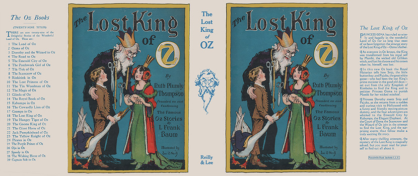 Lost King of Oz, The. Ruth Plumly Thompson, John R. Neill