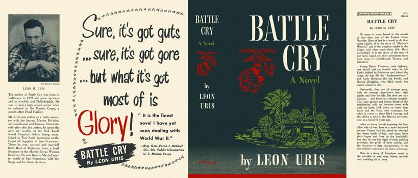 Battle Cry. Leon Uris.