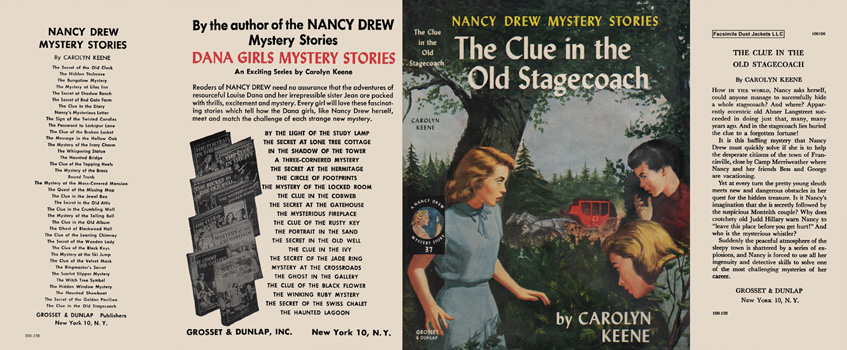 Nancy Drew #37: Clue in the Old Stagecoach, The. Carolyn Keene