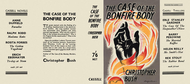 Case of the Bonfire Body, The. Christopher Bush