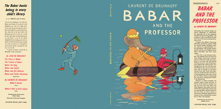 Babar and the Professor. Laurent De Brunhoff