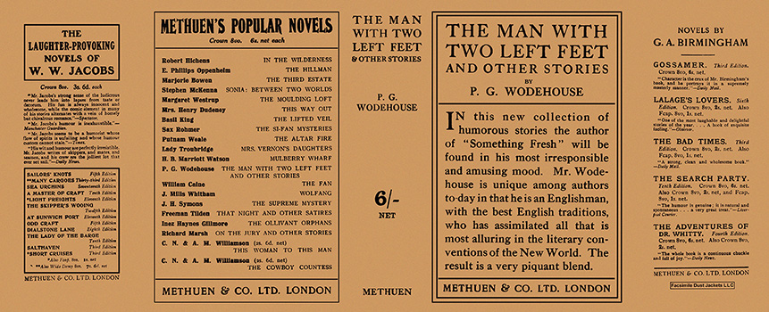 Man with Two Left Feet and Other Stories, The. P. G. Wodehouse.