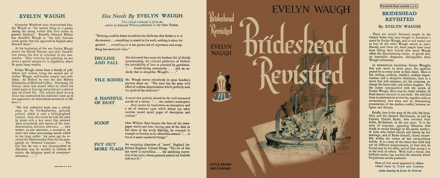 Brideshead Revisited. Evelyn Waugh