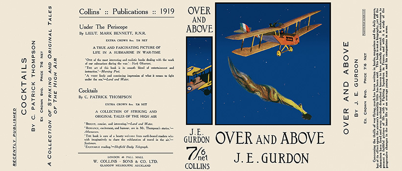 Over and Above. J. E. Gurdon.