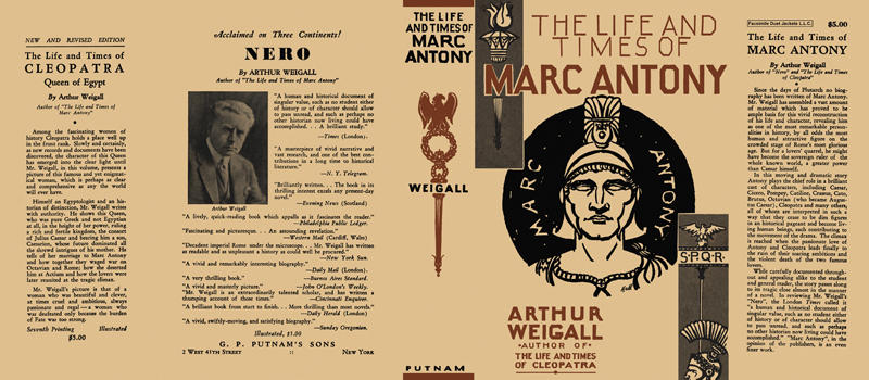 Life and Times of Marc Antony, The. Arthur Weigall