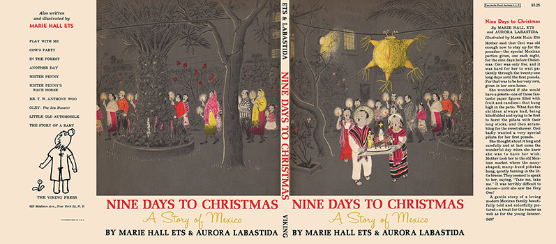 Nine Days to Christmas, A Story of Mexico. Marie Hall Ets, Aurora Labastida.
