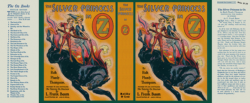 Silver Princess in Oz, The. Ruth Plumly Thompson, John R. Neill