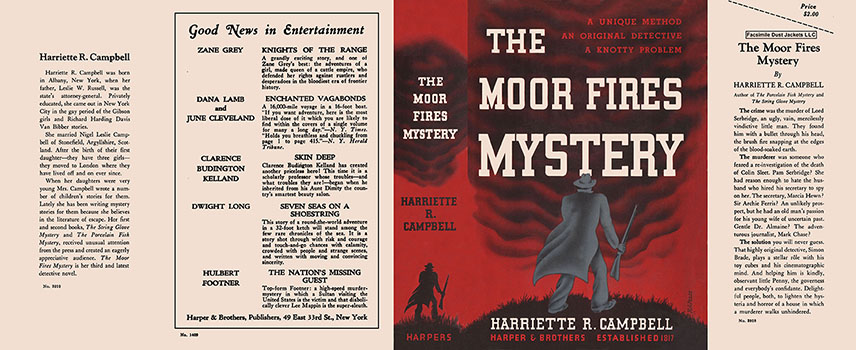 Moor Fires Mystery, The. Harriette Campbell.