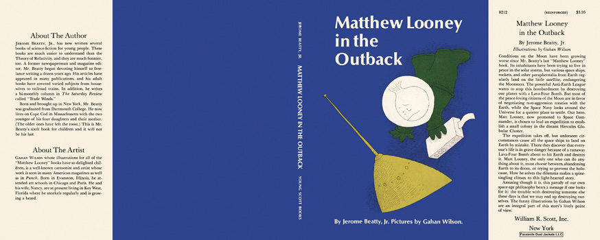 Matthew Looney in the Outback. Jerome Beatty, Gahan Wilson