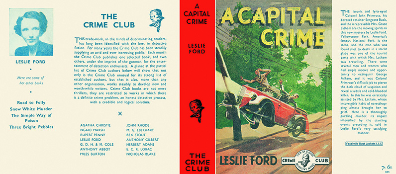 Capital Crime, A. Leslie Ford.