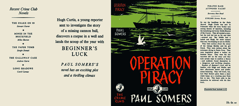 Operation Piracy. Paul Somers.