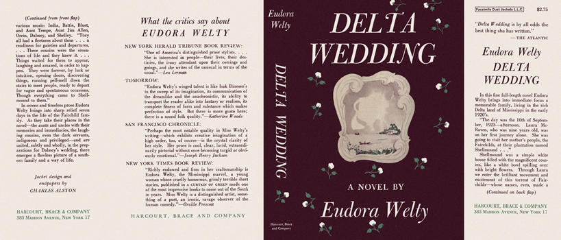 Delta Wedding. Eudora Welty.