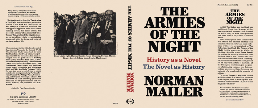 Armies of the Night, The. Norman Mailer.