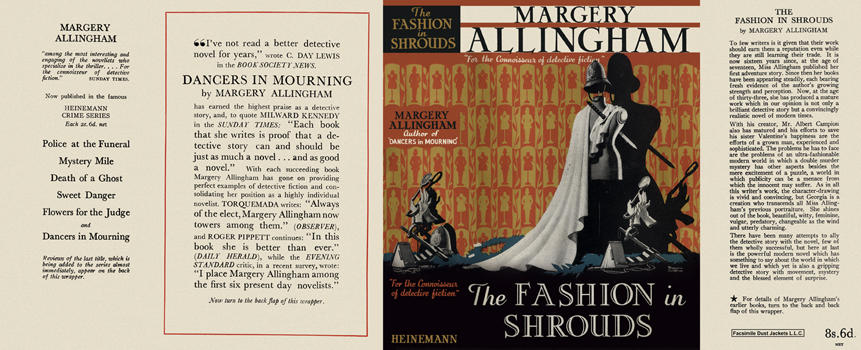 Fashion in Shrouds, The. Margery Allingham