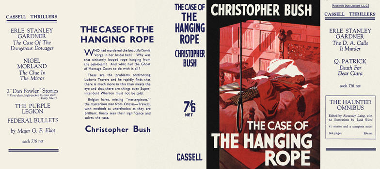 Case of the Hanging Rope, The. Christopher Bush.