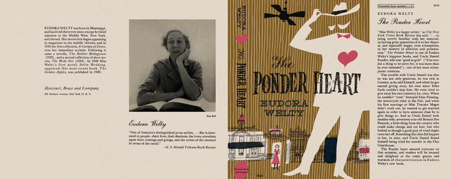 Ponder Heart, The. Eudora Welty.