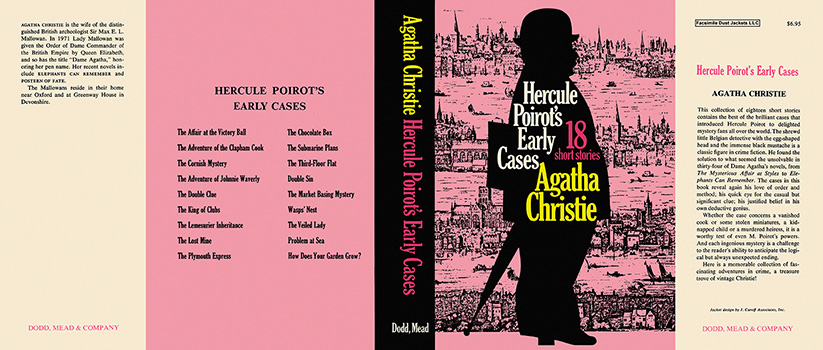 Hercule Poirot's Early Cases. Agatha Christie.