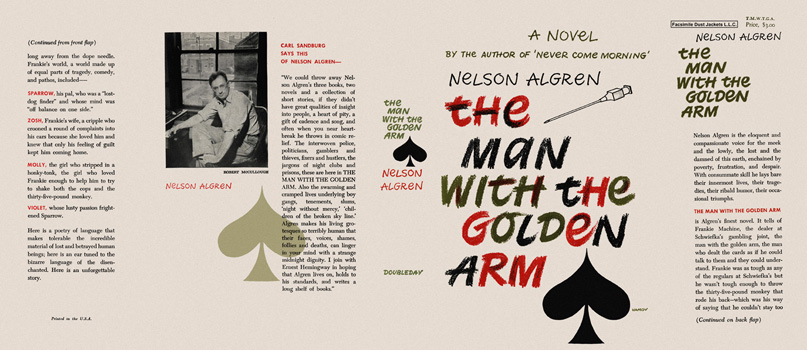 Man with the Golden Arm, The. Nelson Algren