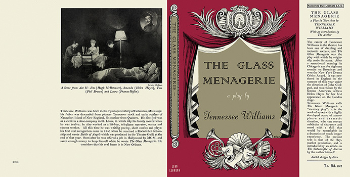 Glass Menagerie, A Play in Two Acts, The. Tennessee Williams.
