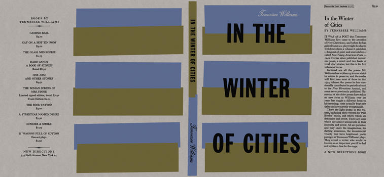 In the Winter of Cities. Tennessee Williams