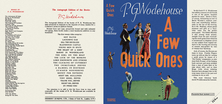 Few Quick Ones, A. P. G. Wodehouse.
