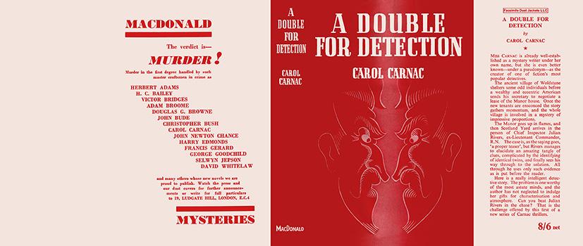 Double for Detection, A. Carol Carnac.