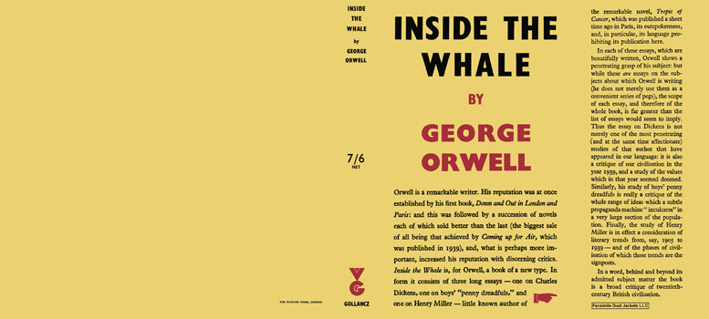 Inside the Whale. George Orwell