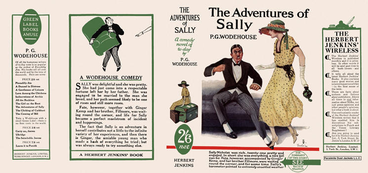Adventures of Sally, The. P. G. Wodehouse.