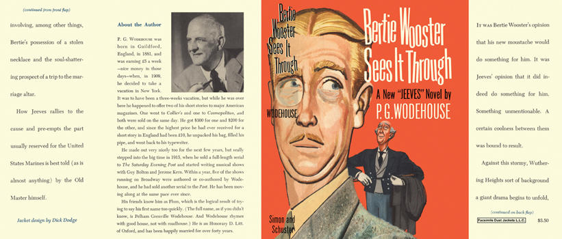 Bertie Wooster Sees It Through. P. G. Wodehouse.