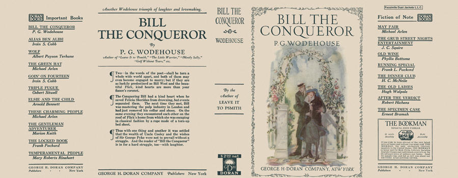 Bill the Conqueror. P. G. Wodehouse.