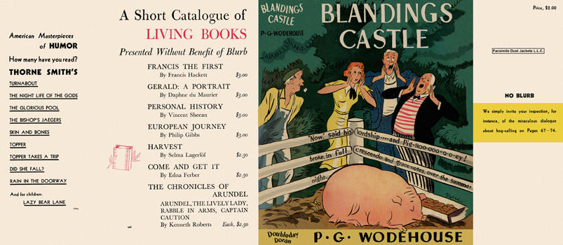 Blandings Castle. P. G. Wodehouse.