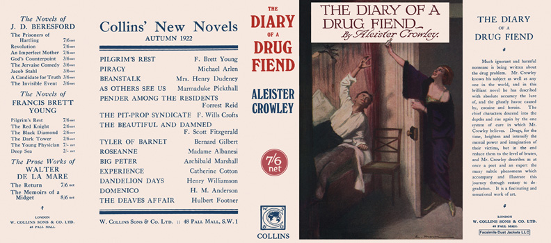 Diary of a Drug Fiend, The. Aleister Crowley