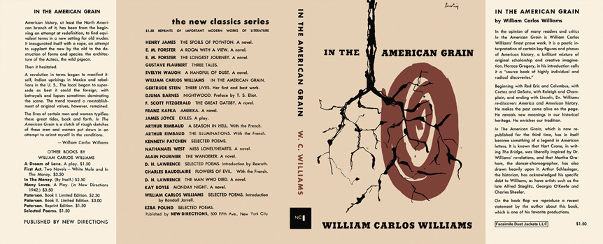 In the American Grain. William Carlos Williams