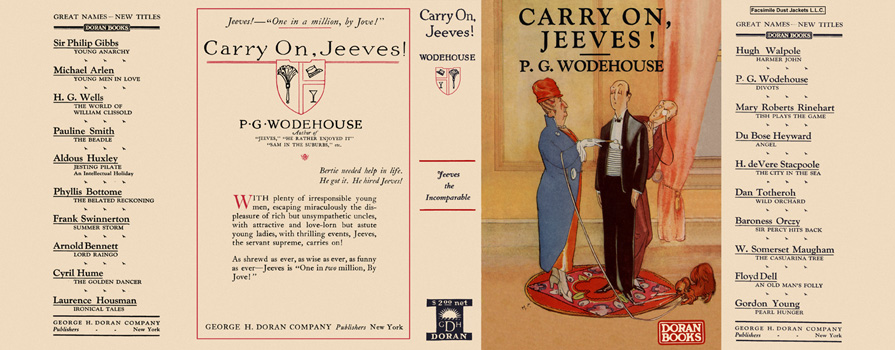 Carry On, Jeeves! P. G. Wodehouse.