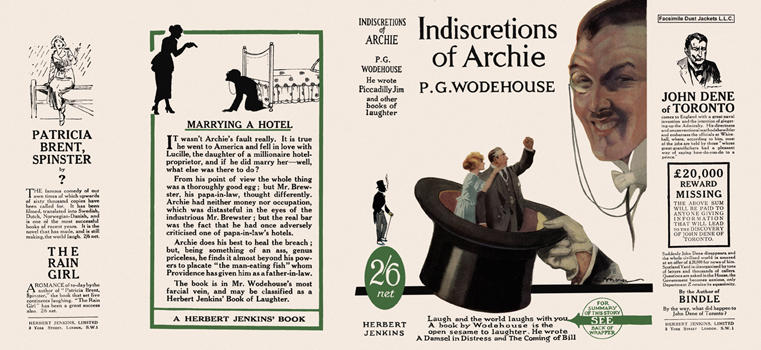Indiscretions of Archie. P. G. Wodehouse.