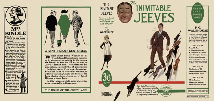 Inimitable Jeeves, The. P. G. Wodehouse