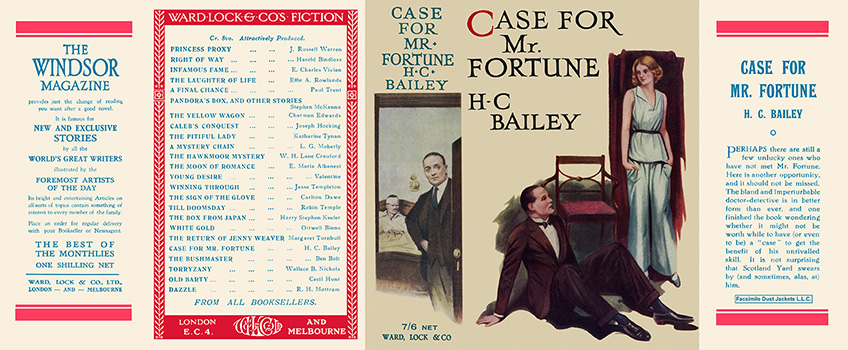 Case for Mr. Fortune. H. C. Bailey.