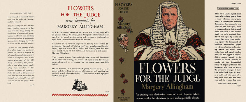 Flowers for the Judge. Margery Allingham