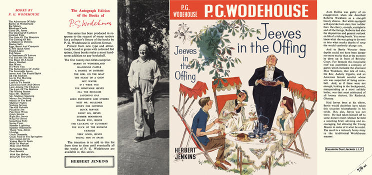 Jeeves in the Offing. P. G. Wodehouse.