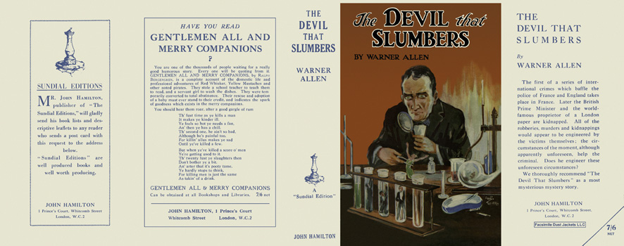 Devil That Slumbers, The. Warner Allen
