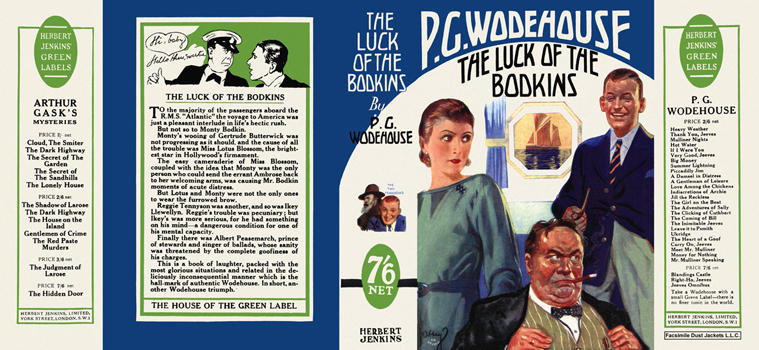 Luck of the Bodkins, The. P. G. Wodehouse