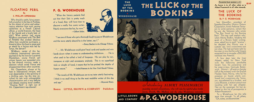 Luck of the Bodkins, The. P. G. Wodehouse.